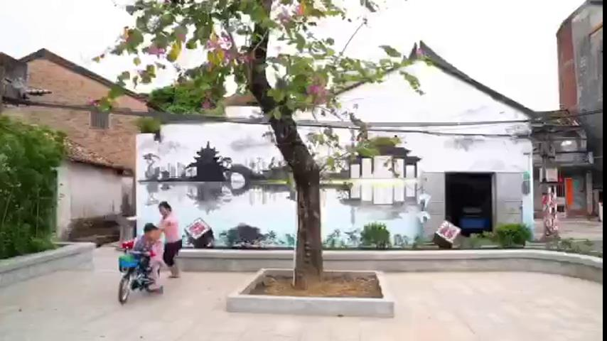 东莞城乡墙绘壁画为生活添彩